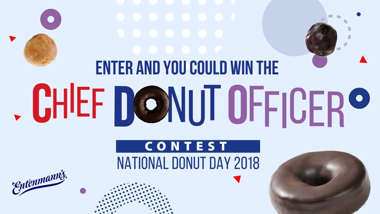 Entenmann's Chief Donut Officer Contest
