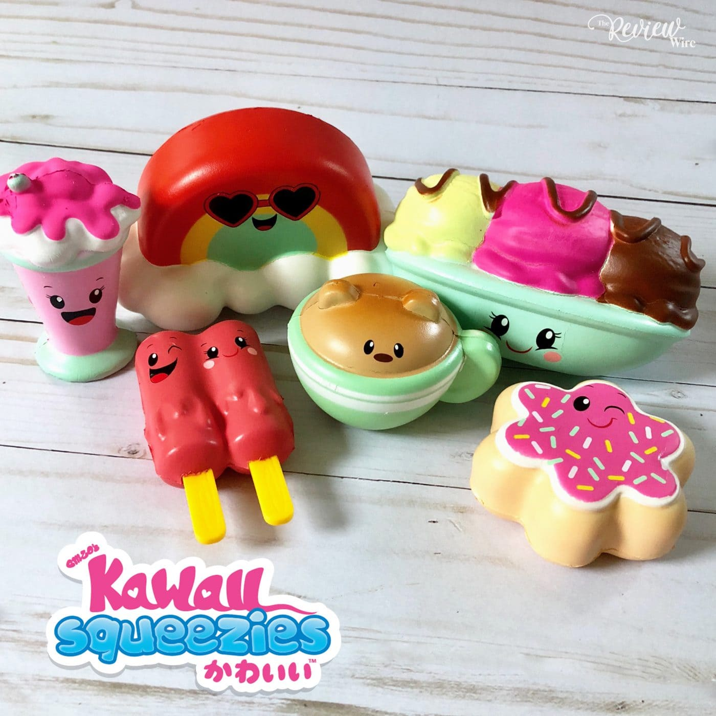 The Review Wire Summer Guide 2018 Just Play Kawaii Squeezies