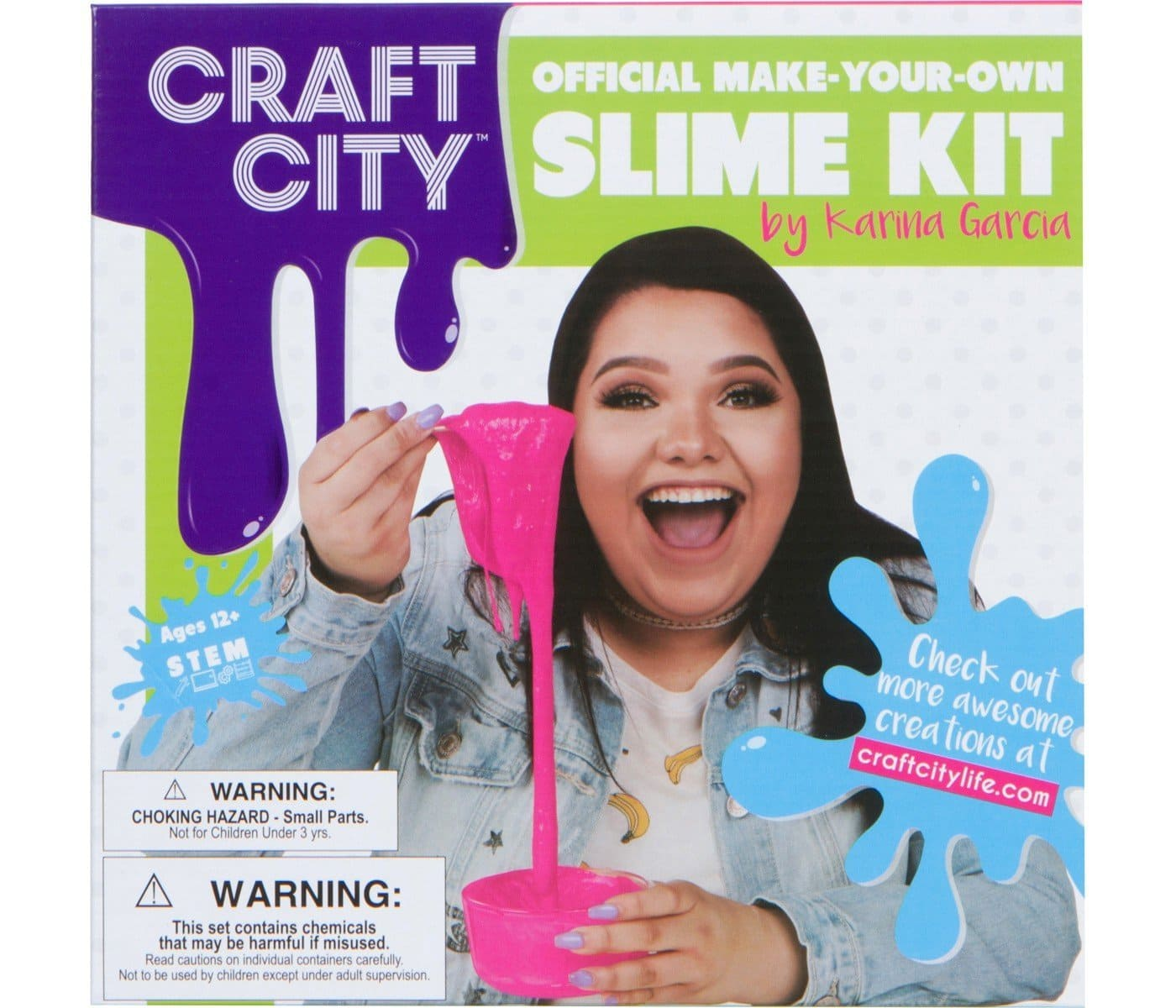 The Review Wire Summer Guide 2018 Karina Garcia DIY Slime Kit- Craft City