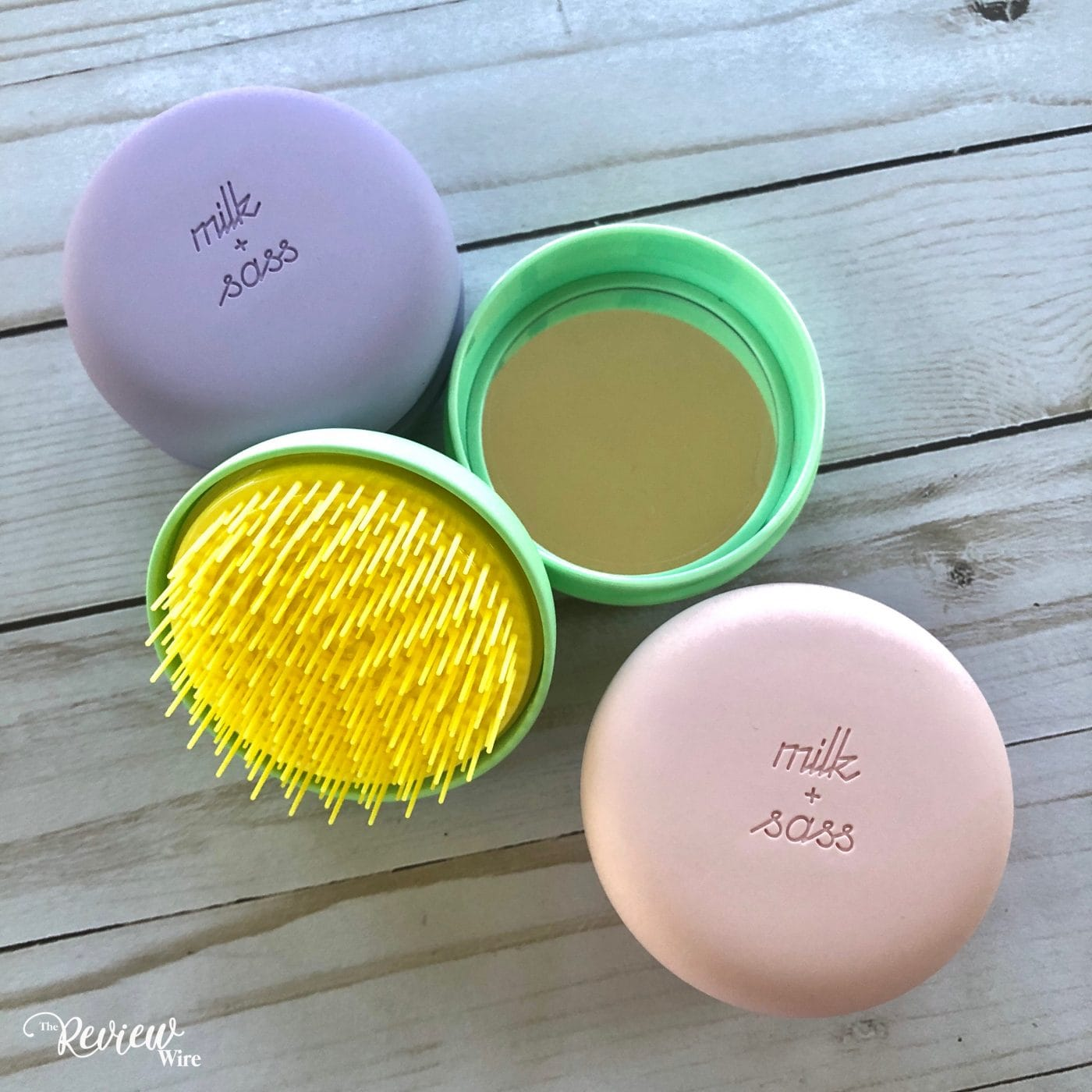 The Review Wire: Milk & Sass Macaron Hairbrush Video Review