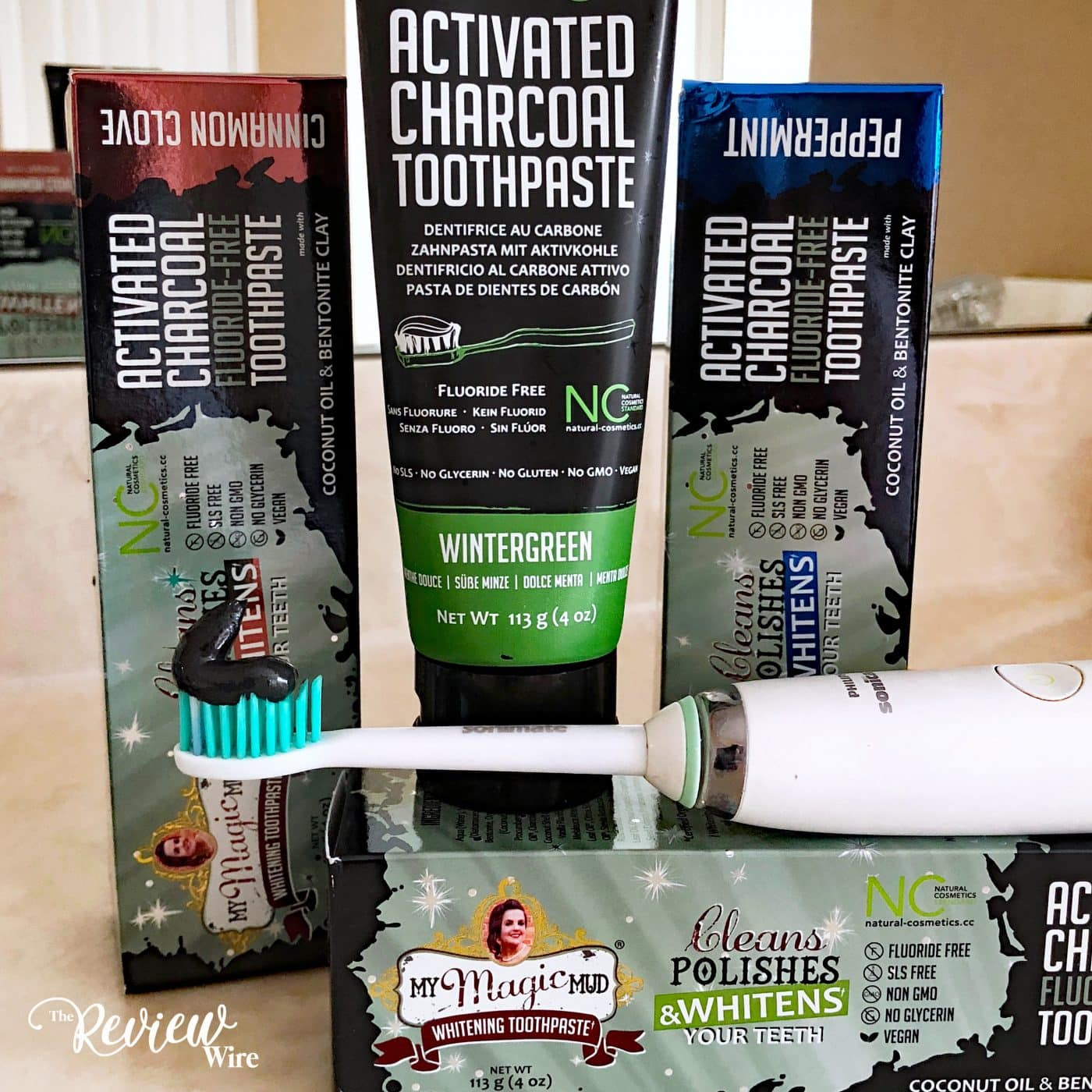 The Review Wire Summer Guide 2018 My Magic Mud: Activated Charcoal Toothpaste