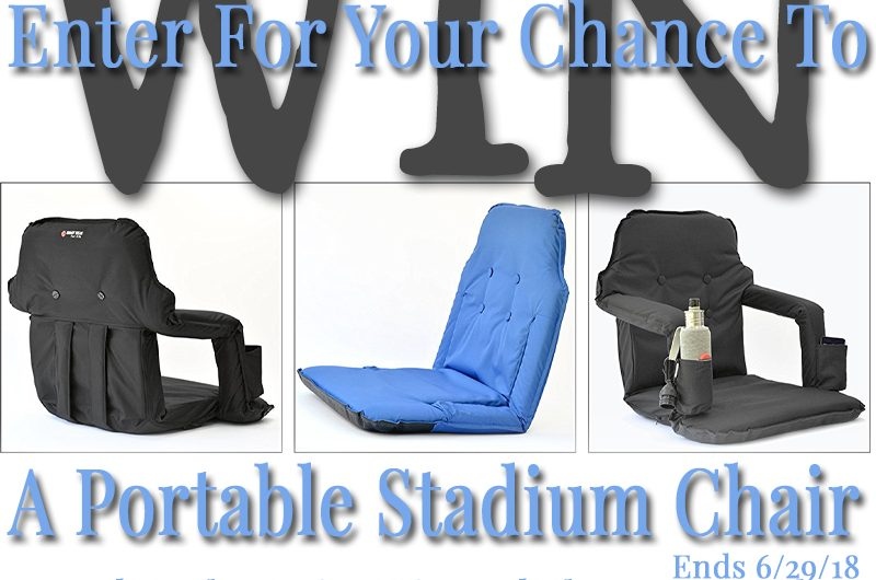 Portable Stadium Chair Giveaway
