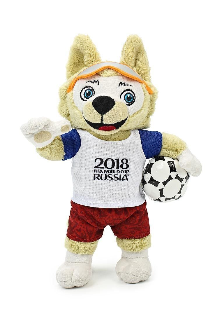 Zabivaka - Official Plush Mascot of 2018 FIFA World Cup Russia