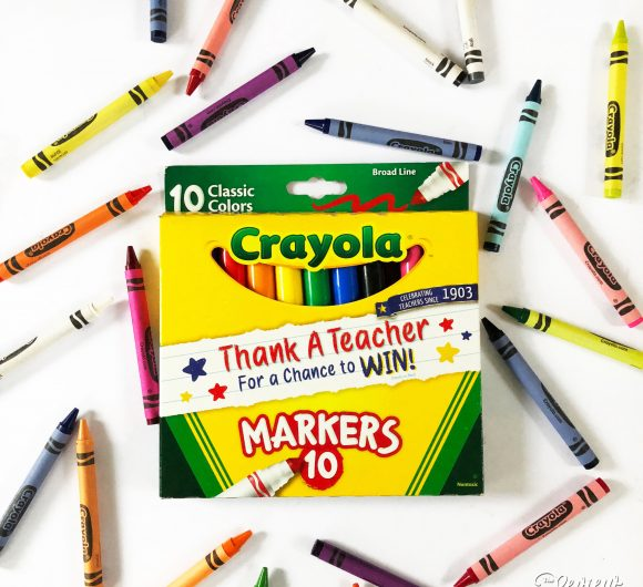 Crayola Crayons and Markers Thank a Teacher