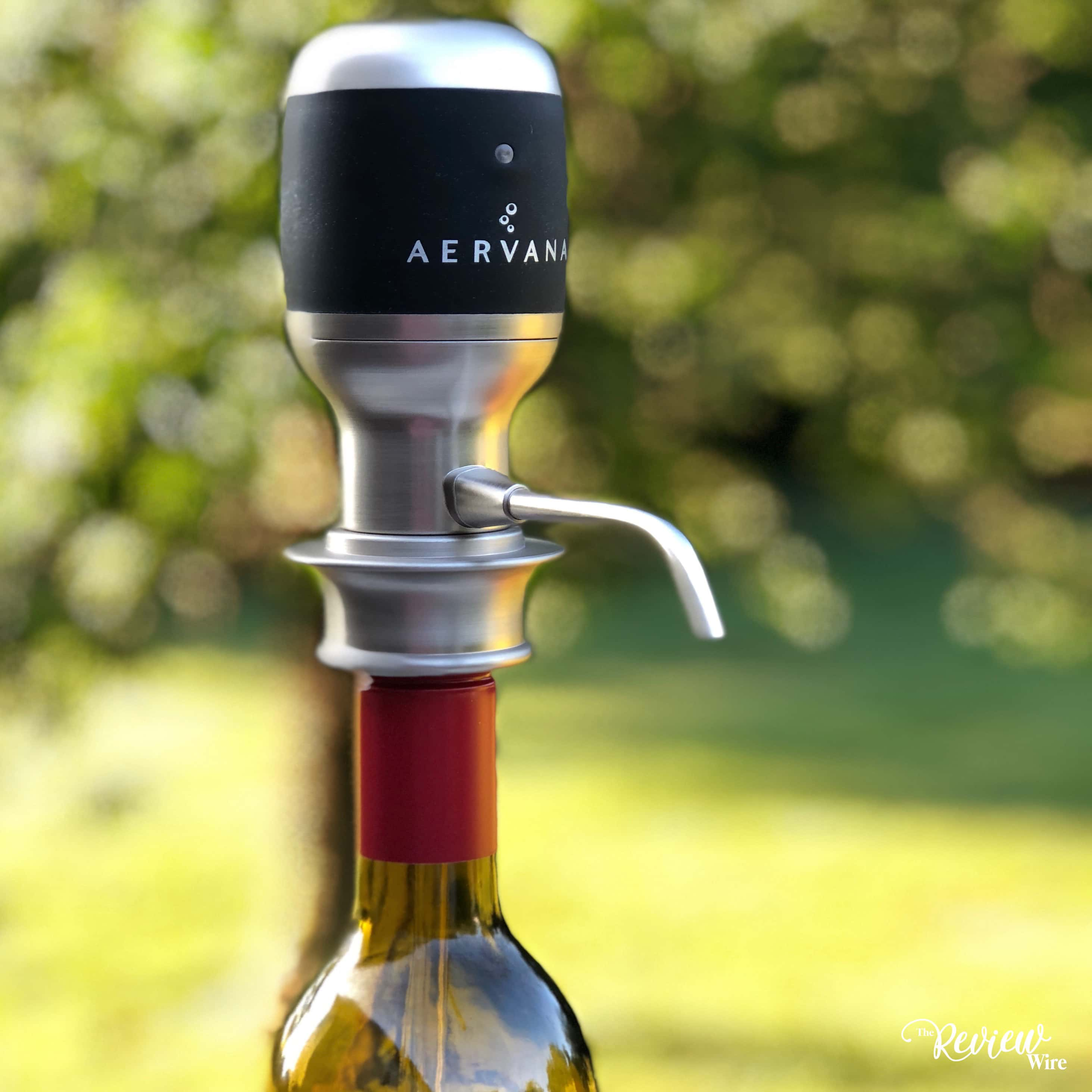 Aervana One-Touch Electric Wine Aerator (2)
