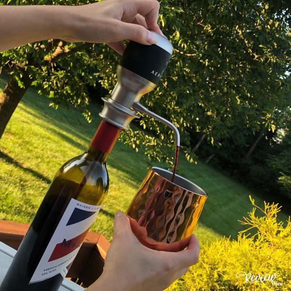 Aervana One-Touch Electric Wine Aerator (3)