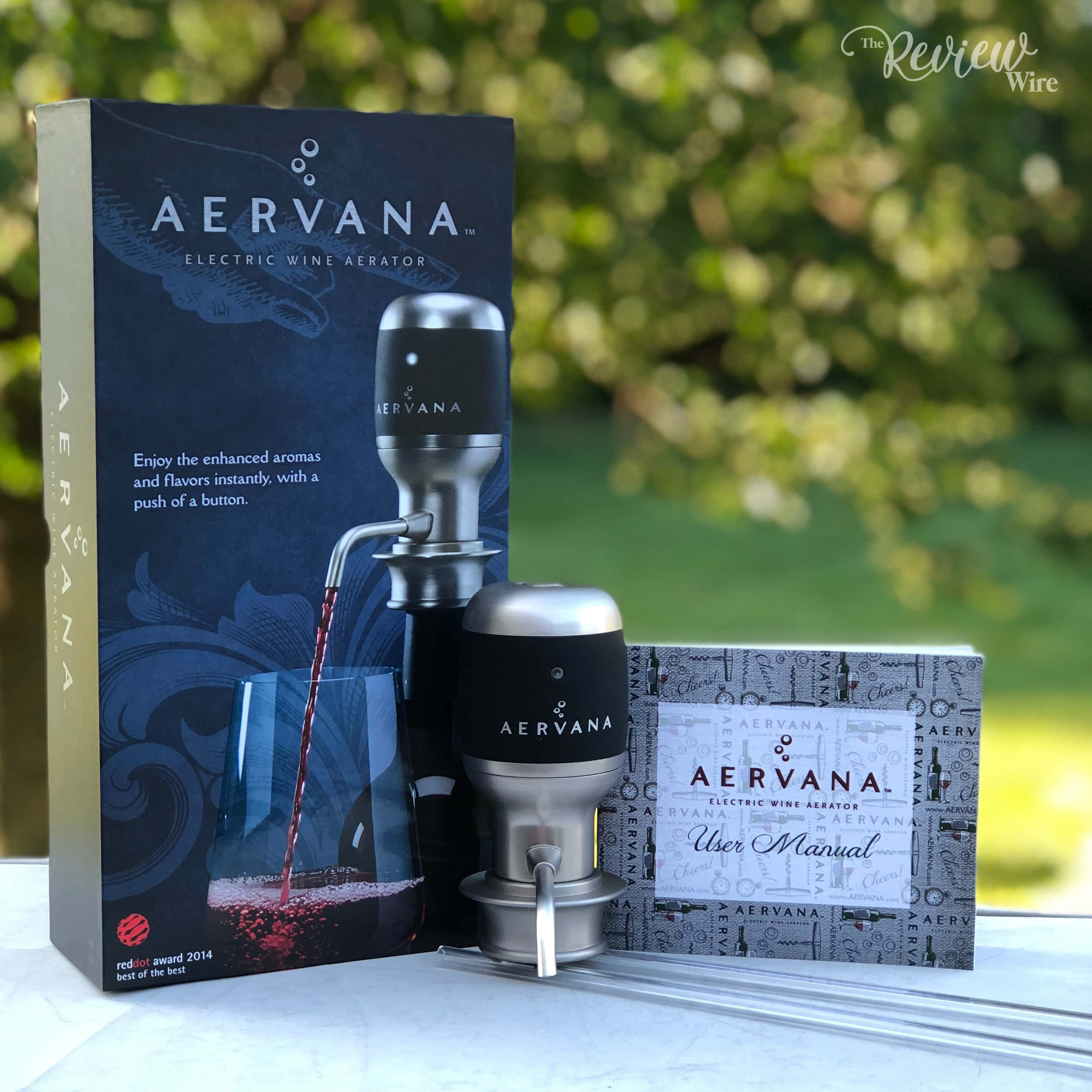 Aervana One-Touch Electric Wine Aerator