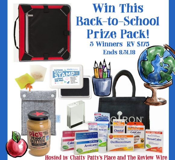 The Review Wire: Back to School 2018 Prize Pack Giveaway