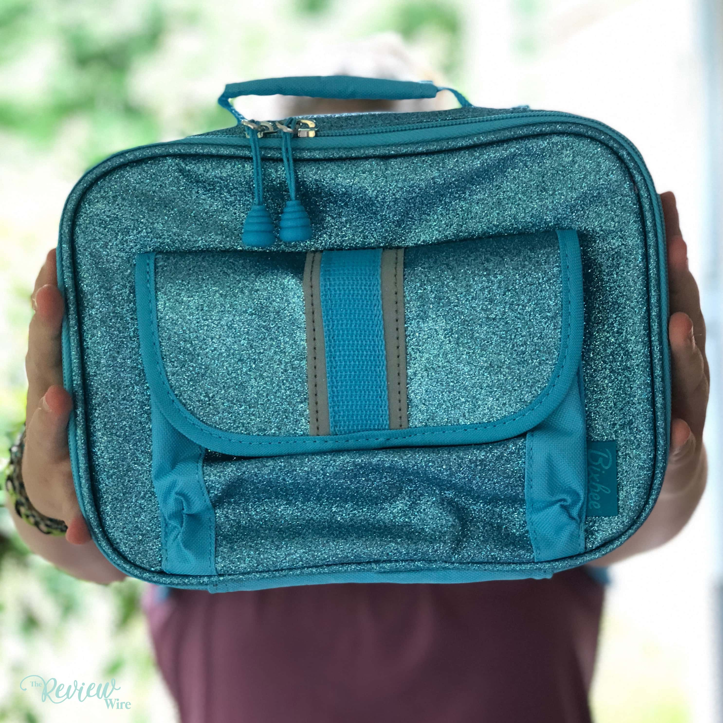 Bixbee Sparkalicious Turquoise Lunchbox