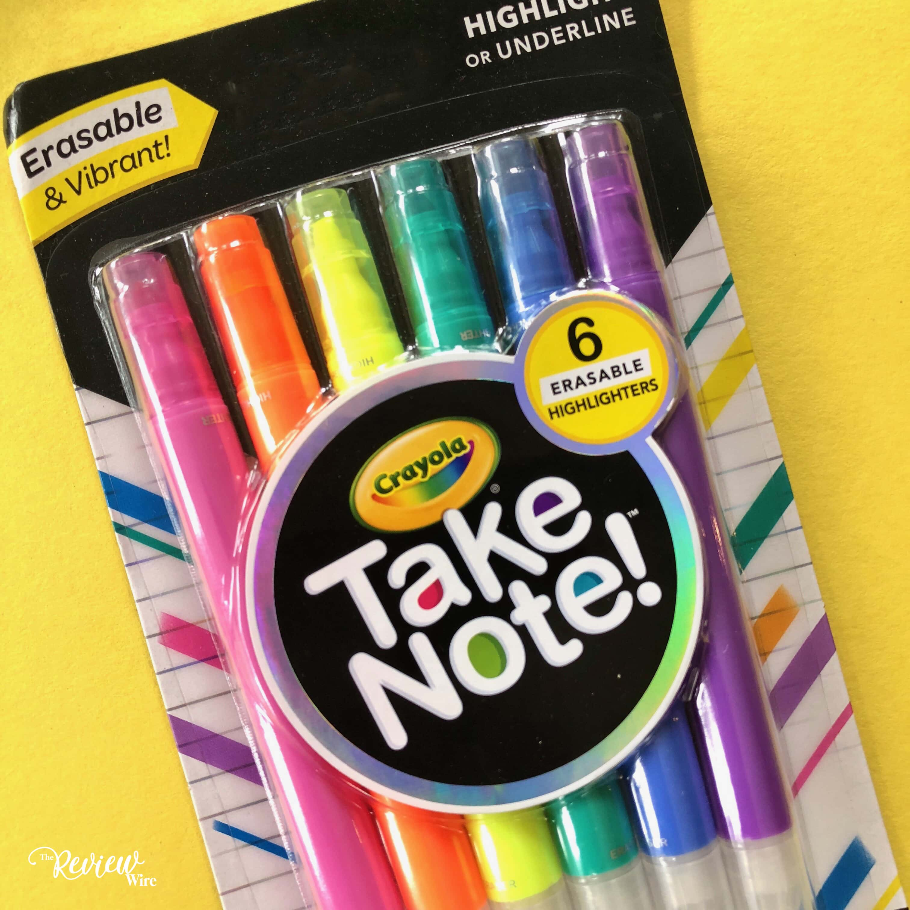 Crayola Take Note! Highlighters