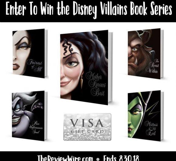 Disney Villains Book Series Giveaway