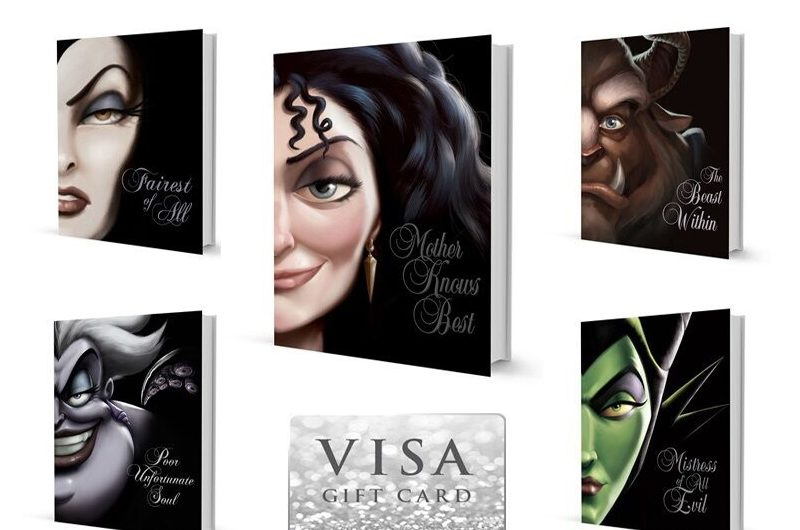 Disney Villains Book Series Giveaway