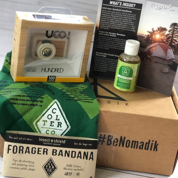 Nomadik Happy Camper Subscription Box