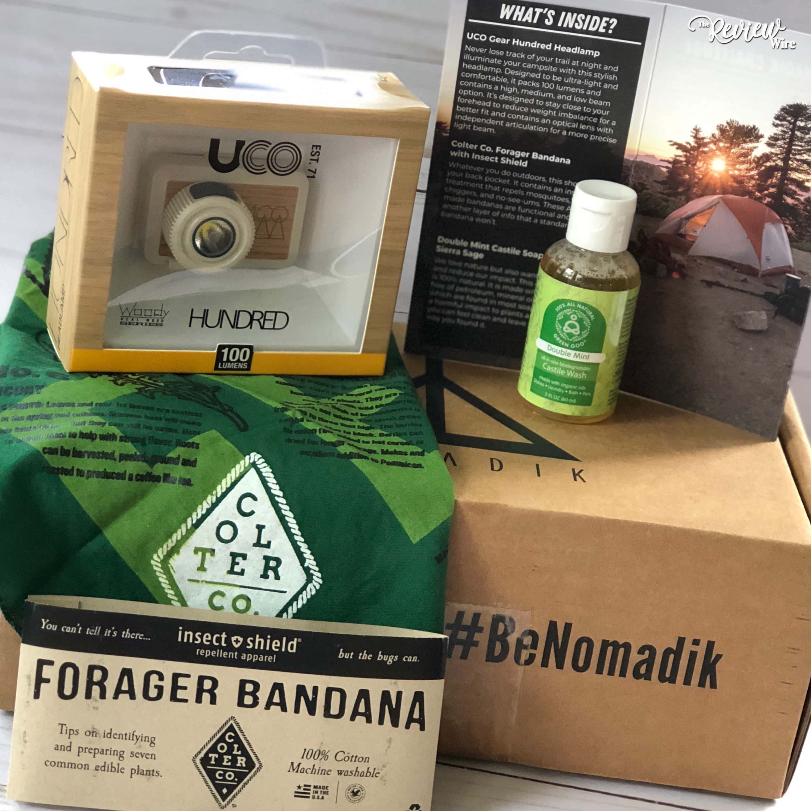 Nomadik Box Happy Camper Subscription