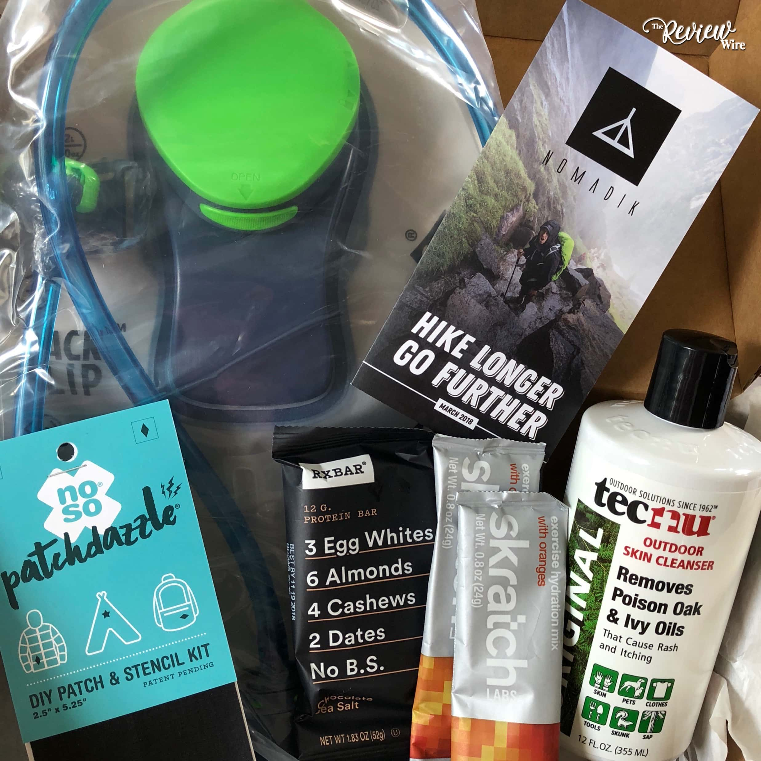 Nomadik Subscription Box March 2018