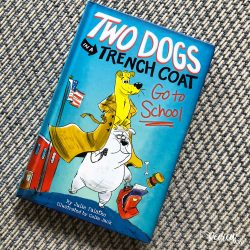 Two Dogs in a Trench Coat Go to School Book 1