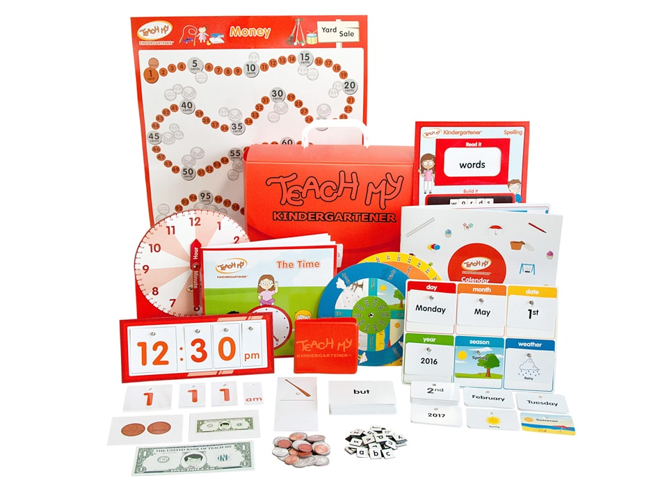 Teach My Kindergartener Learning Kit - Deluxe Version