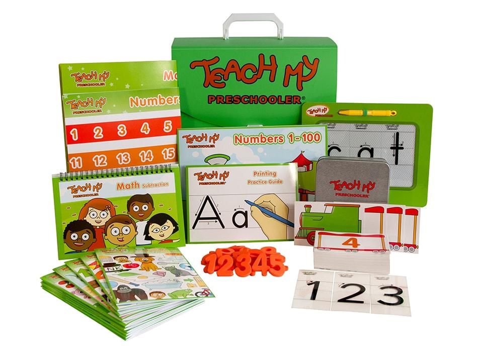 Teach My Preschooler Learning Kit Deluxe Version