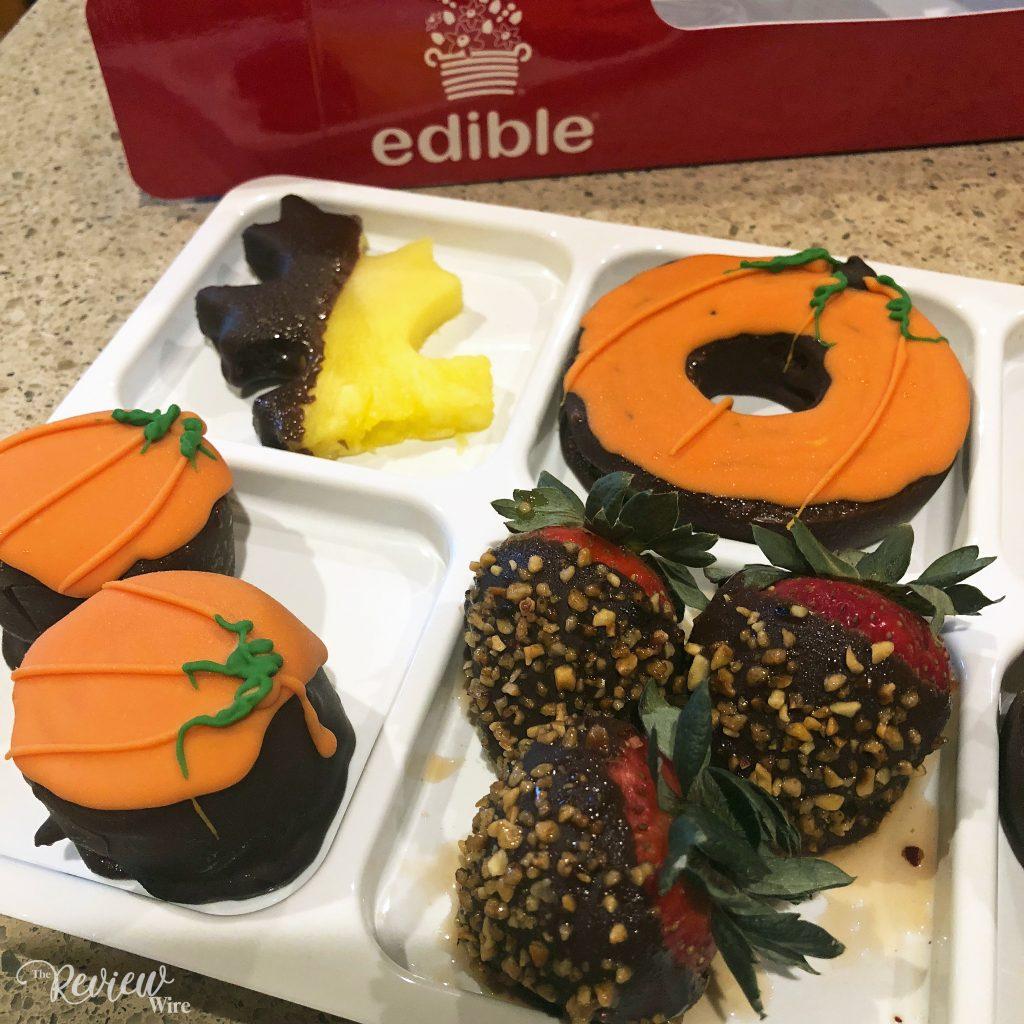 A Taste Of Fall Dipped Fruit Box