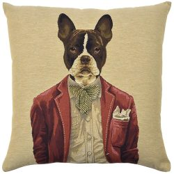 ADORABELLA Dapper Dogs Flynn Pillow