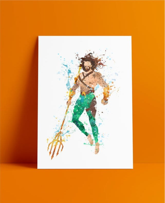 Aquaman Art Aquaman Poster
