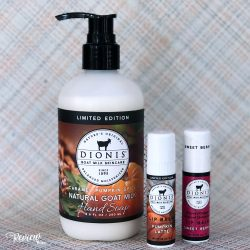 Dionis Natural Goat Milk Skincare Limited Edition Fall Scents