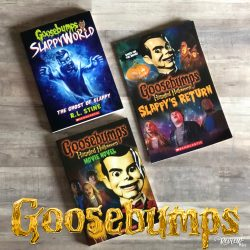 Goosebumps Movie Books