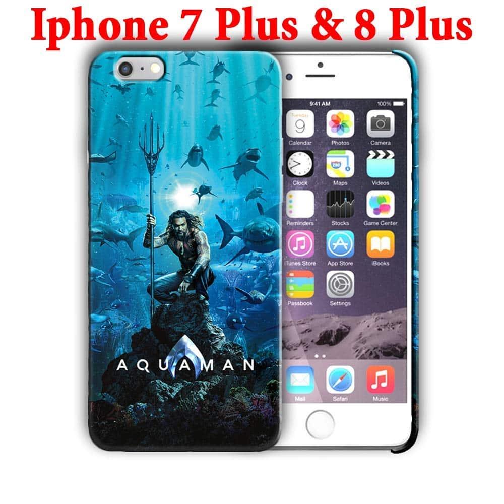 Hard Case Cover with Aquaman Design