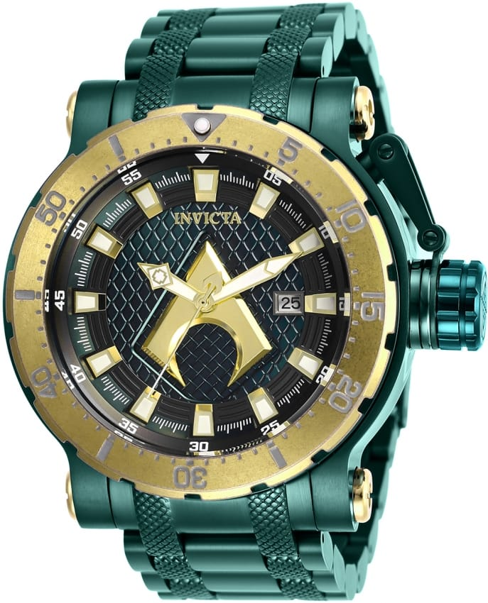 Invicta DC Comics 26830 Aquaman Green Stainless Steel Case Men's Watch