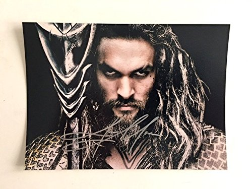 Jason Momoa Batman v Superman Signed 8x10 Photograph