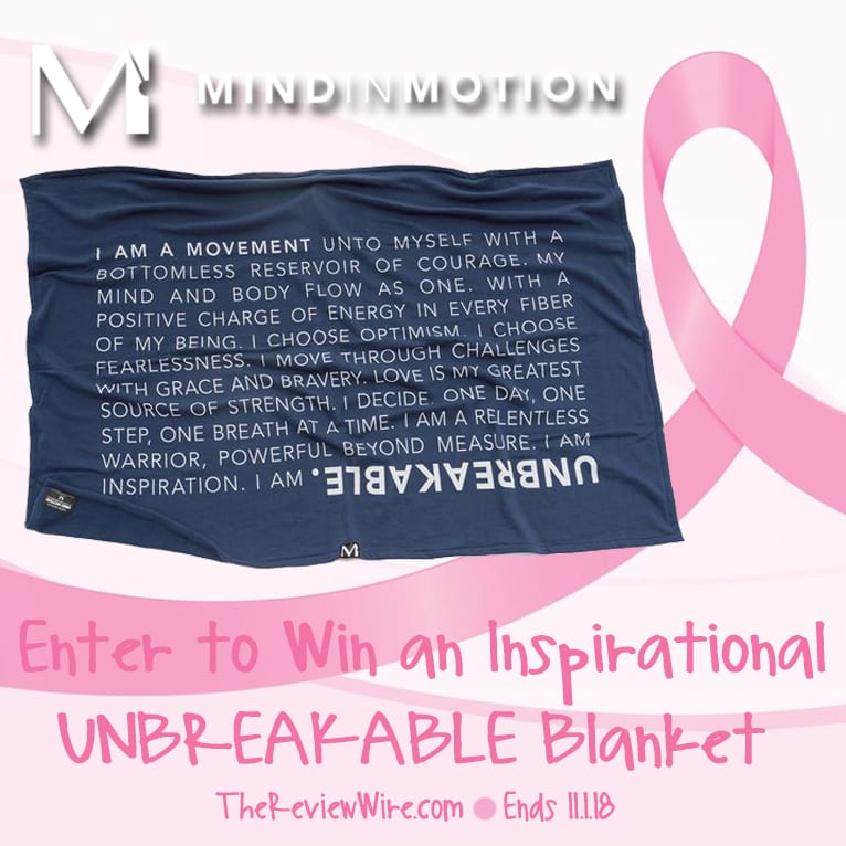 Mind in Motion Blanket Giveaway
