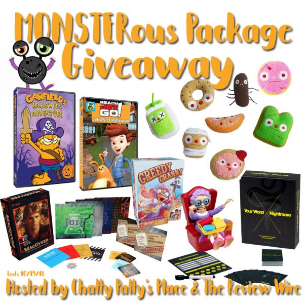 The Review Wire: Monsterous Giveaway Package. Ends 10/19/18