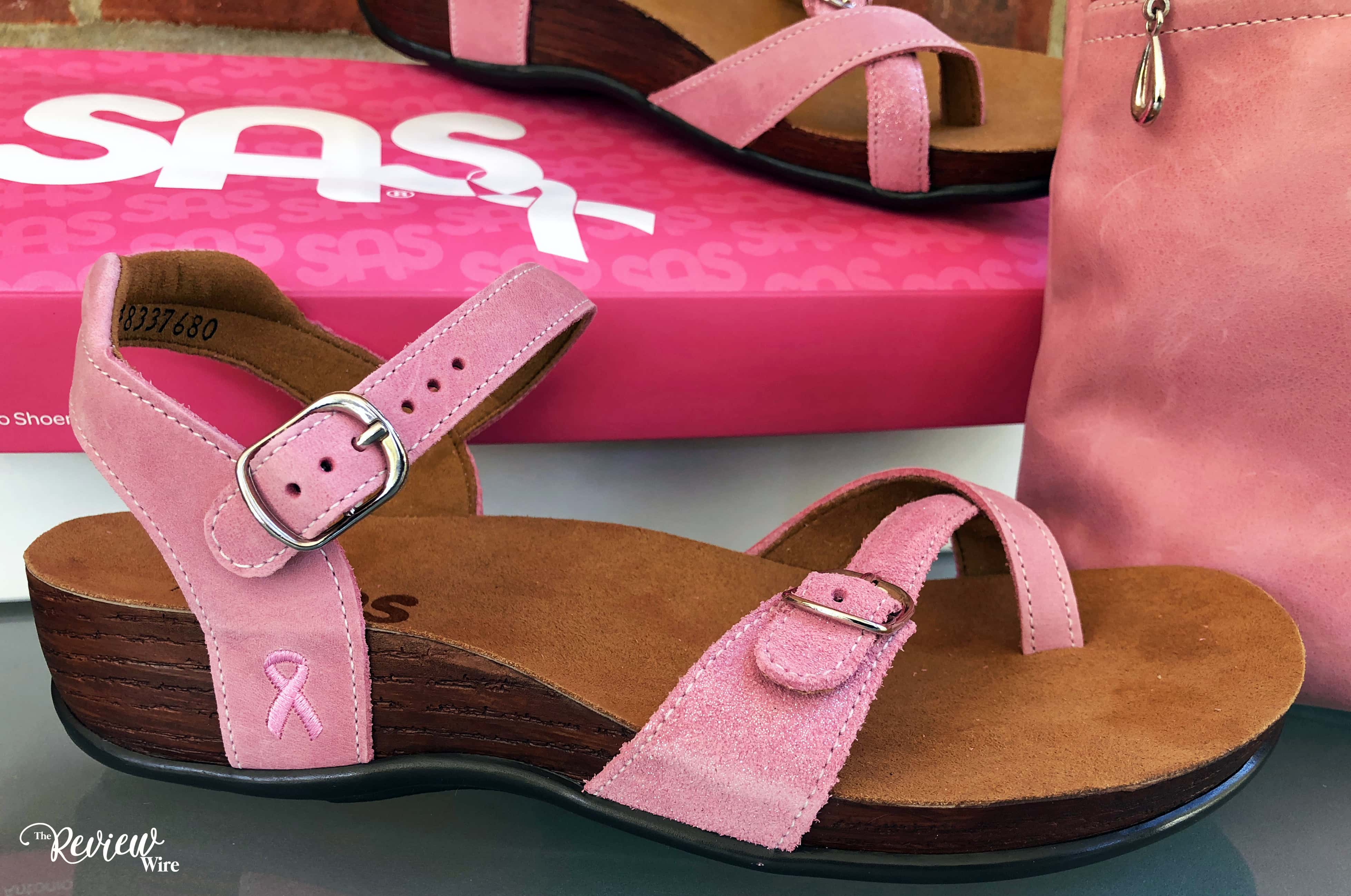 The Review Wire: SAS Shoes Pampa Breast Cancer Awareness Sandal