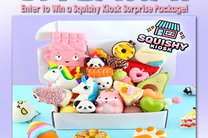 The Review Wire: Squishy Kiosk Giveaway