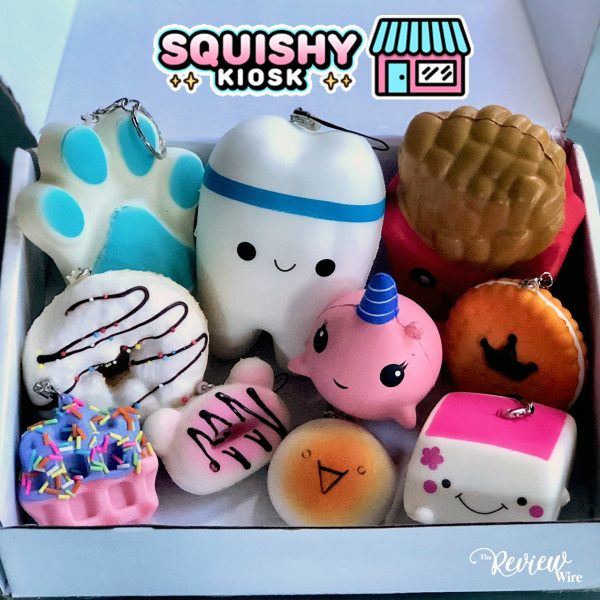 The Review Wire: Surprise Squishy Package from Squishy Kiosk