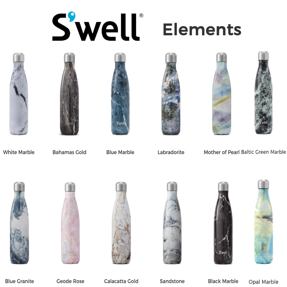 The Review Wire: S'well Elements Water Bottle Collection
