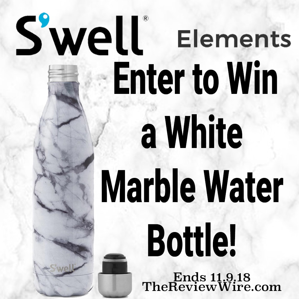 The Review Wire: S'well Water Bottle Giveaway. Ends 11.9.18