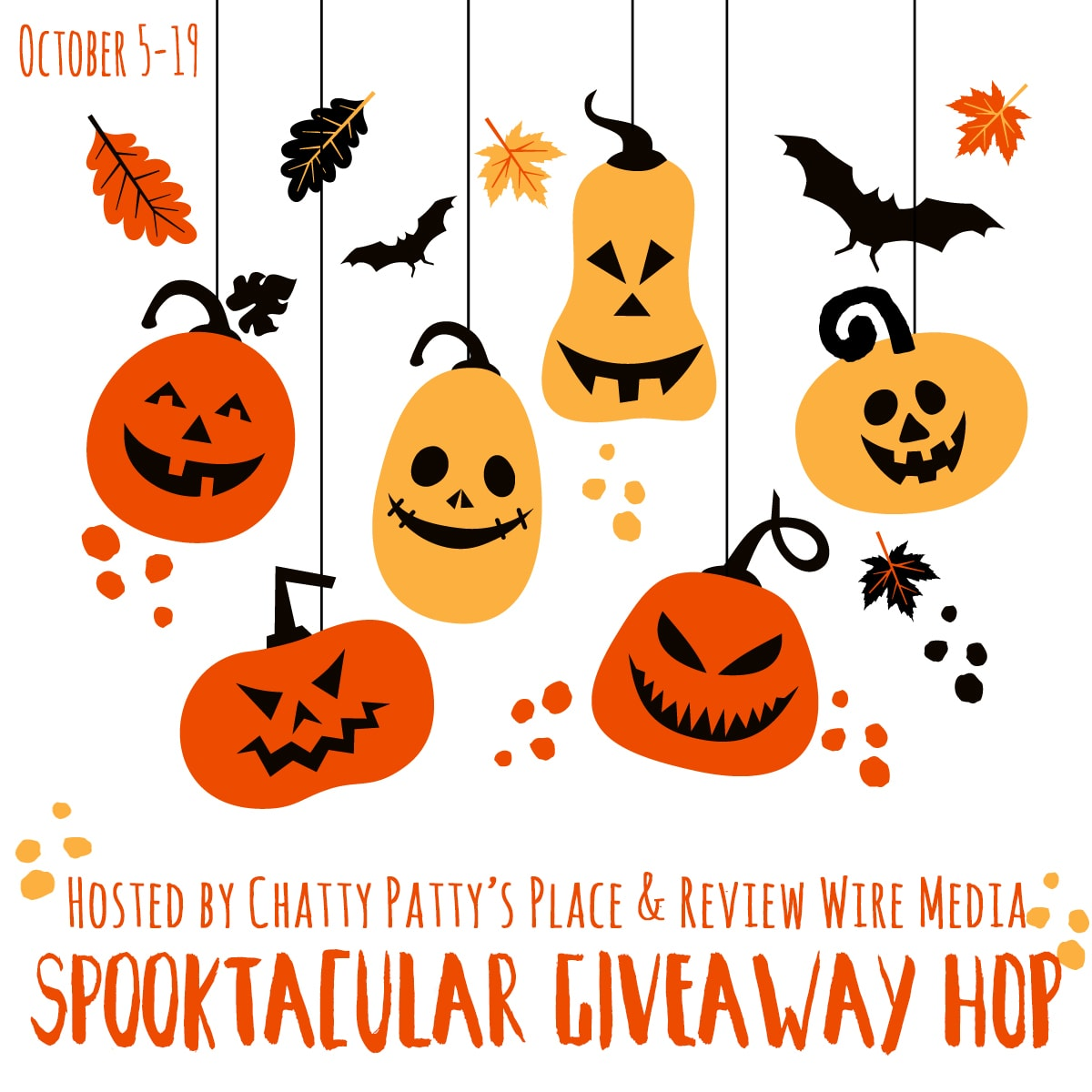 The Review Wire: Spooktacular Giveaway Hop 2018