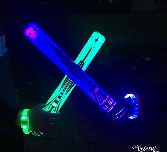 The Review Wire: Starlux Games Glow Battle Foam Swords