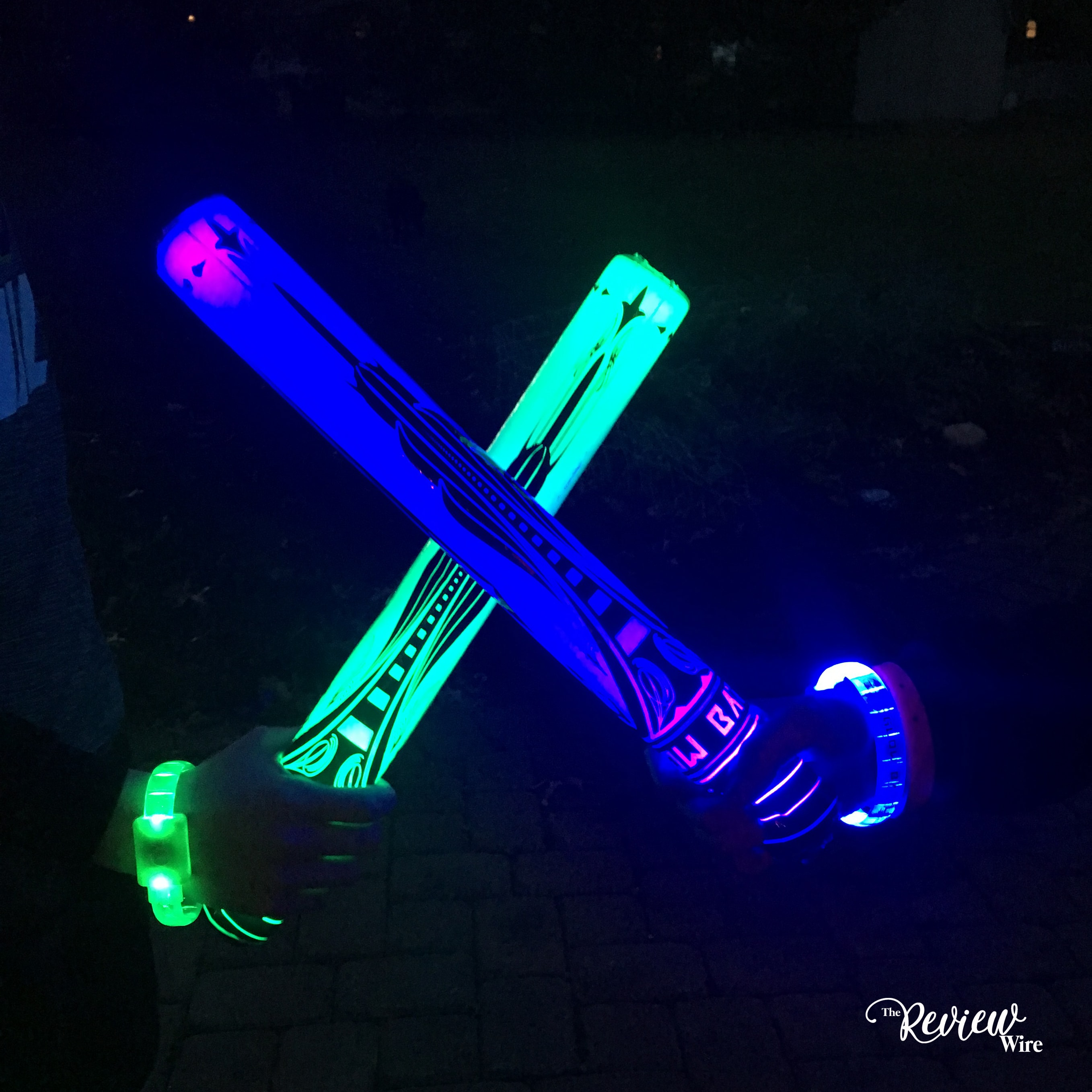 The Review Wire: Starlux Games Glow Battle Foam Swords