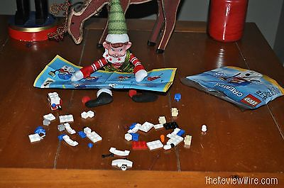 The Review Wire: 30 Elf on the Shelf Ideas - Building LEGOS