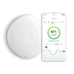 The Review Wire Holiday Gift Guide: Airthings Wave Plus Smart Indoor Air Quality Monitor