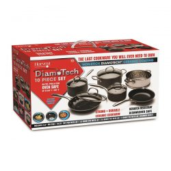 DiamoTech 10 Piece Pan Set
