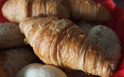 New Years Day Brunch Ideas - Filled Croissants