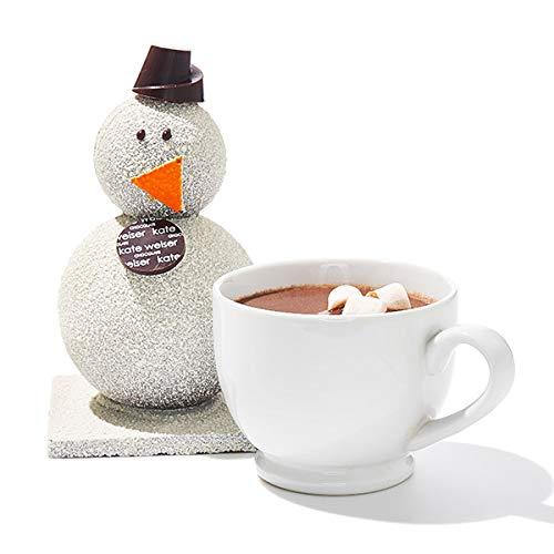 Kate Weiser Chocolate Carl the Drinking Chocolate Snowman