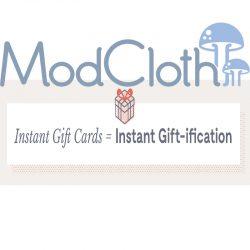 ModCloth Gift Card