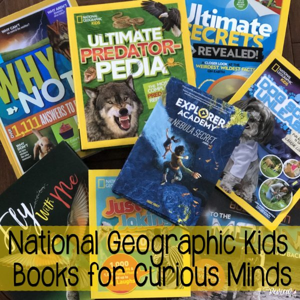 The Review Wire: National Geographic Kids Books for Curious Minds