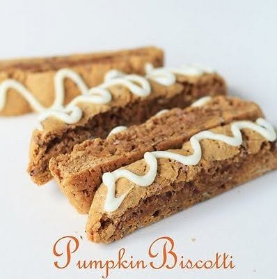 PUMPKIN PIE BISCOTTI