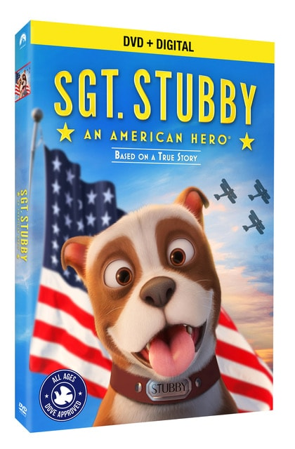 SGT. Stubby: An American Hero DVD