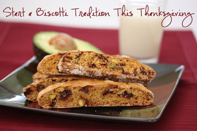 The Review Wire: Start a Biscotti Tradition This Thanksgiving